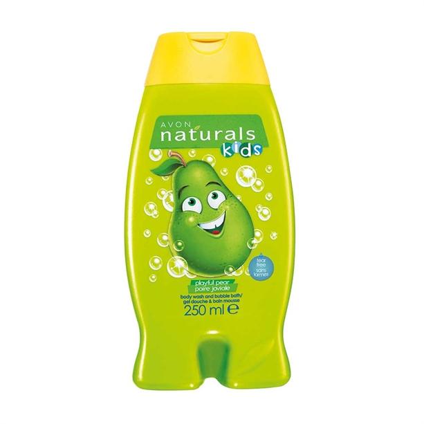 Gel de dus si spumant de baie pentru copii cu aroma de para Naturals Kids - Catalog Avon