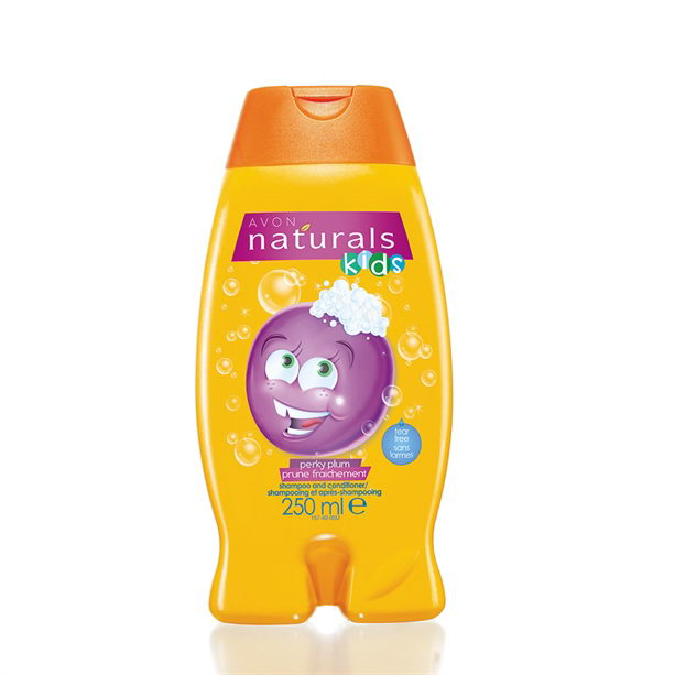 Sampon si balsam pentru copii cu aroma de pruna Naturals Kids - Catalog Avon