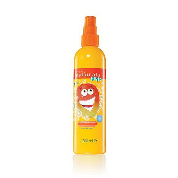 Spray pentru descurcarea parului pentru copii cu aroma de mango Naturals Kids - Catalog Avon