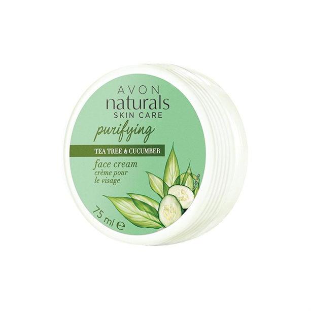 Crema de fata Naturals cu castravete si extract de arbore de ceai - Catalog Avon