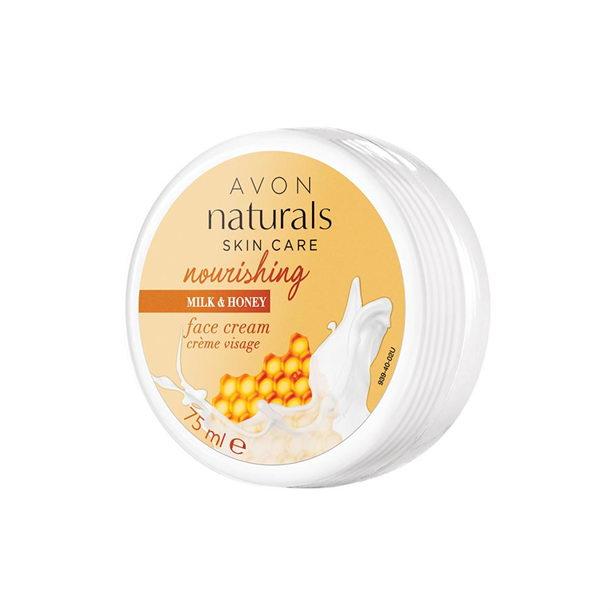 Crema de fata Naturals cu lapte si miere - Catalog Avon