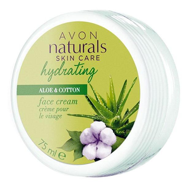 Crema de fata Naturals cu aloe si bumbac - Catalog Avon