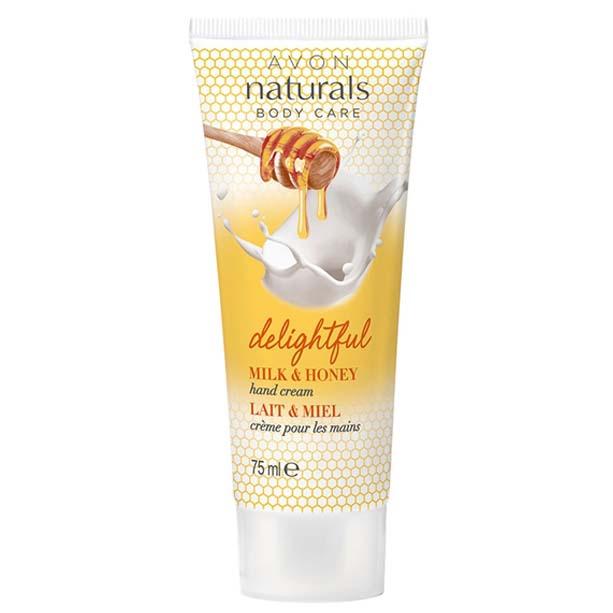 Crema de maini Naturals cu lapte si miere - Catalog Avon
