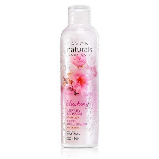 Gel de dus Naturals cu flori de cires - Catalog Avon