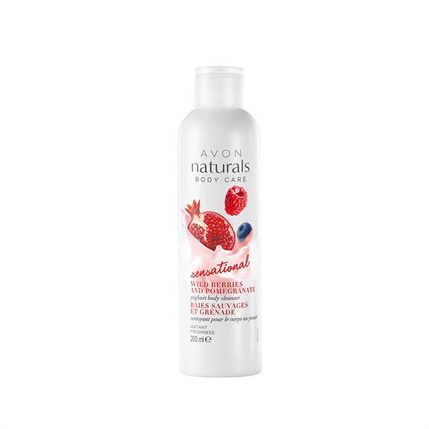 Gel de dus Naturals cu iaurt - Catalog Avon