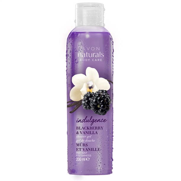 Gel de dus Naturals cu aroma de mure si vanilie - Catalog Avon