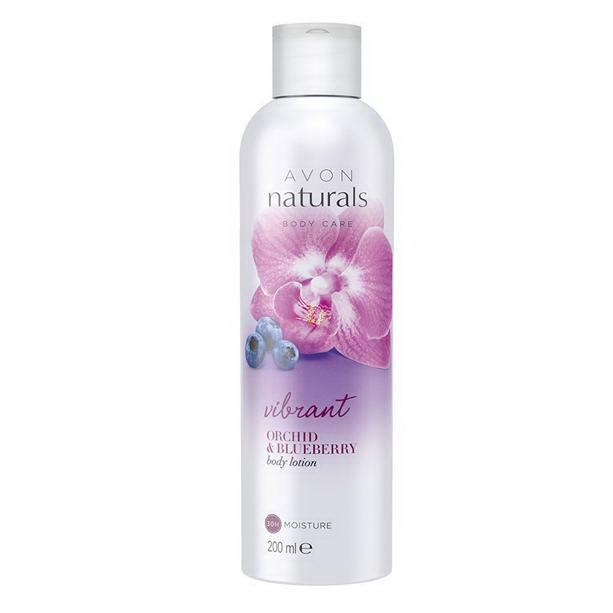 Lotiune de corp Naturals cu orhidee si coacaze **** - Catalog Avon