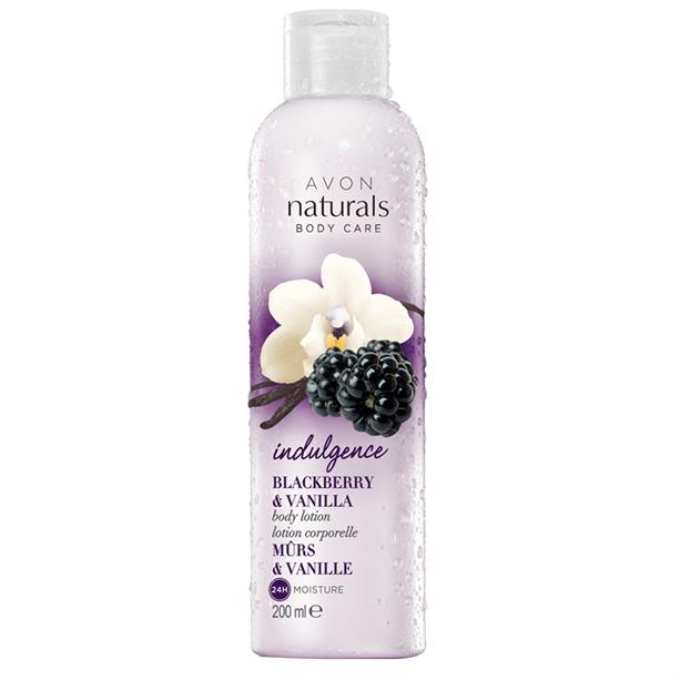 Lotiune de corp Naturals cu aroma de mure si vanilie - Catalog Avon