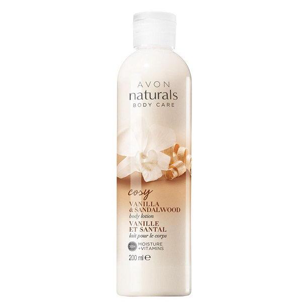 Lotiune de corp Naturals cu vanilie si lemn de santal **** - Catalog Avon