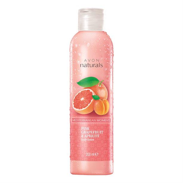 Lotiune de corp Naturals cu grepfrut si caisa - Catalog Avon