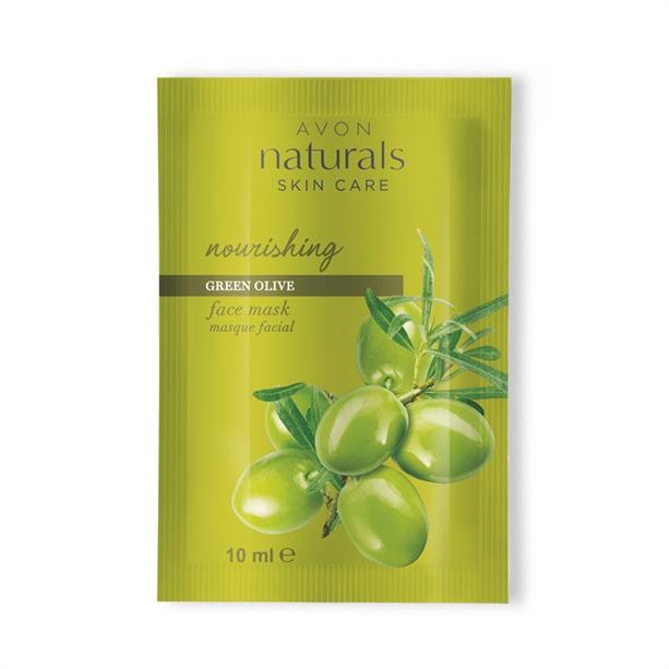 Masca individuala Naturals cu masline verzi - Catalog Avon