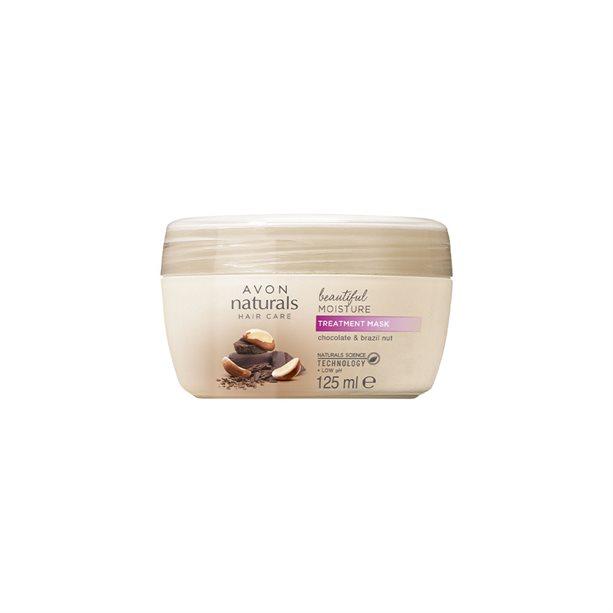 Masca tratament pentru Naturals par cu ciocolata si nuci - Catalog Avon