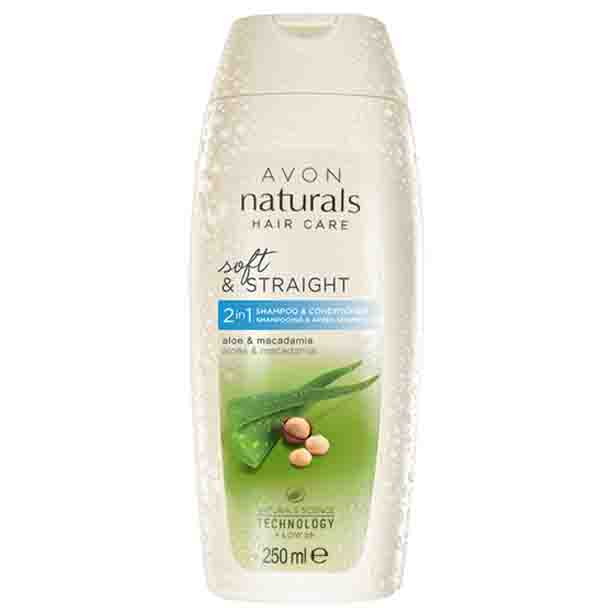 2 in 1 Sampon si Balsam Naturals cu aloe si macadamia 250 ml - Catalog Avon