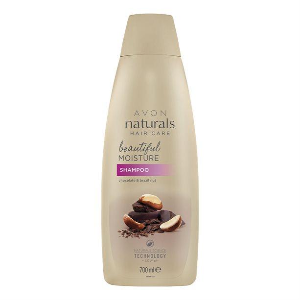 Sampon hidratant Naturals cu ciocolata si nuci 700 ml - Catalog Avon