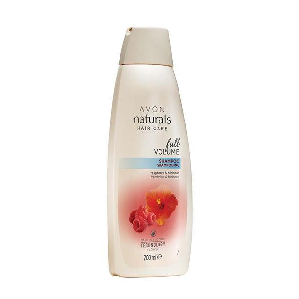 Sampon Naturals pentru volum cu zmeura si hibiscus 700 ml - Catalog Avon