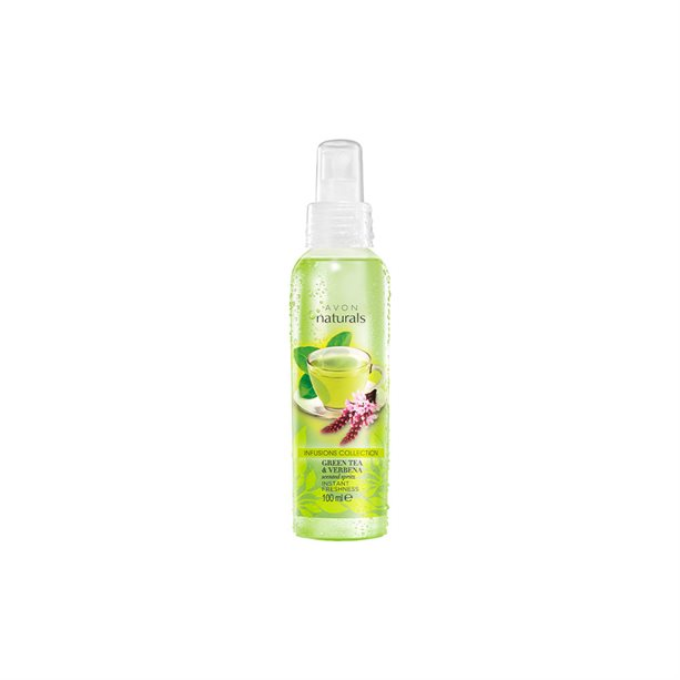 Spray de corp Naturals cu ceai verde si verbina - Catalog Avon
