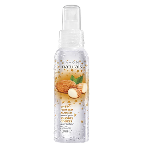 Spray de corp parfumat Naturals cu migdale - Catalog Avon