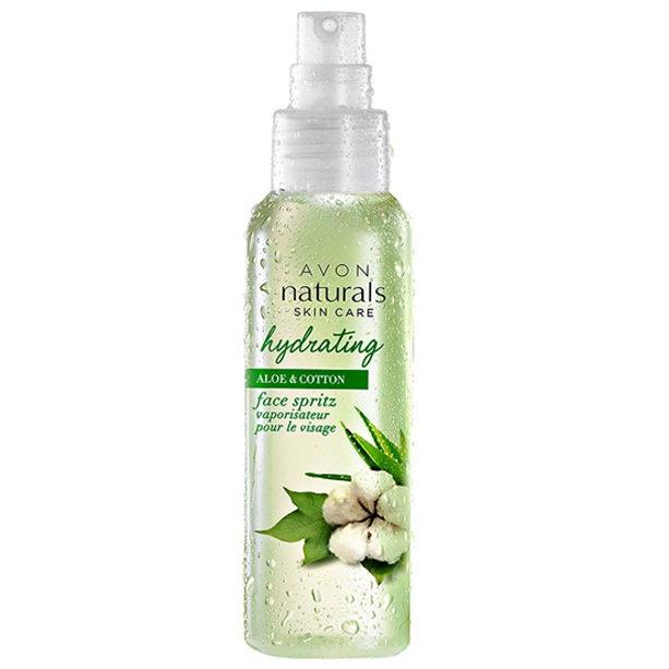 Spray hidratant pentru fata Naturals cu Aloe si bumbac - Catalog Avon