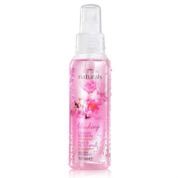 Spray de corp parfumat Naturals cu flori de cires **** - Catalog Avon