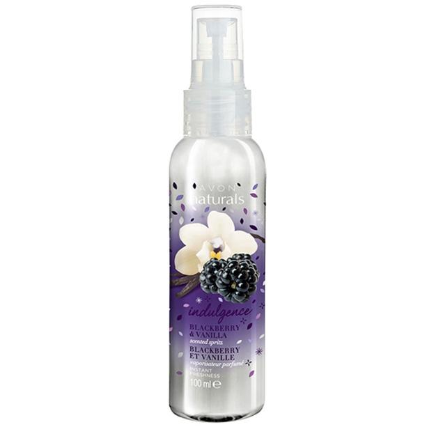 Spray de corp parfumat Naturals cu mure si vanilie **** - Catalog Avon