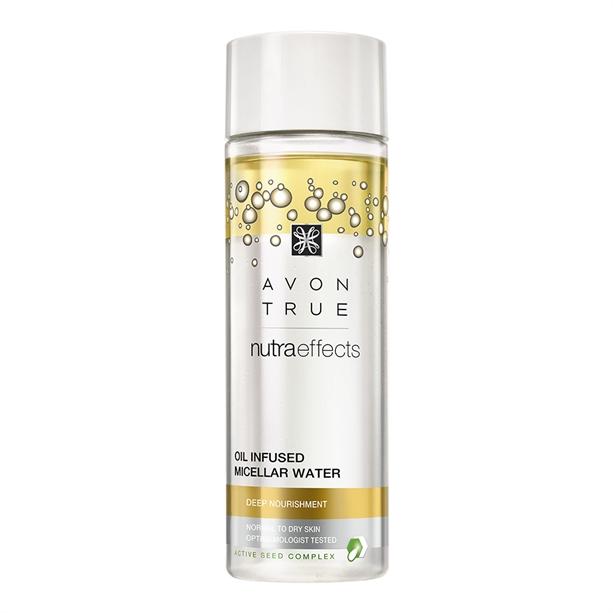Apa micelara infuzata cu ulei Avon True Nutra Effects - Catalog Avon