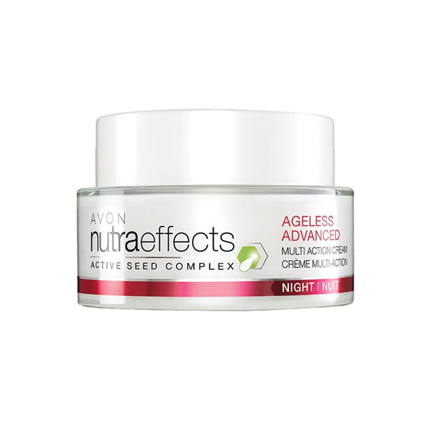 Crema de noapte Nutra Effects Ageless Advanced Multi Action - Catalog Avon