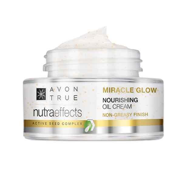 Crema hranitoare Avon True Nutra Effects Miracle Glow - Catalog Avon