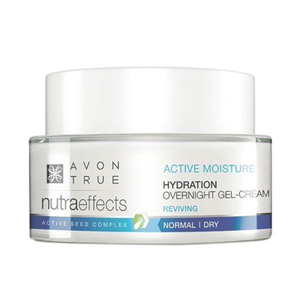 Crema-gel hidratanta de noapte Avon True Nutra Effects Hydration - Catalog Avon