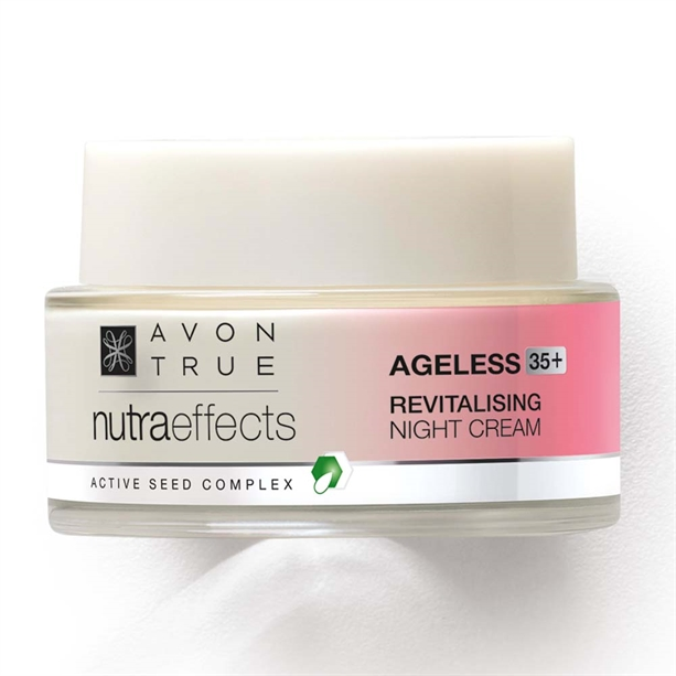 OS - Crema de noapte revitalizanta Avon True Nutra Effects Ageless 35+ - Catalog Avon