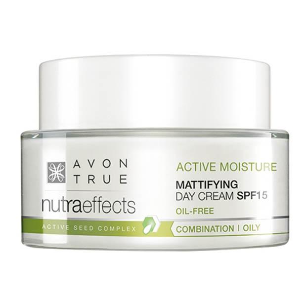 Crema de zi Avon True Nutra Effects Mattifying SPF15 - Catalog Avon