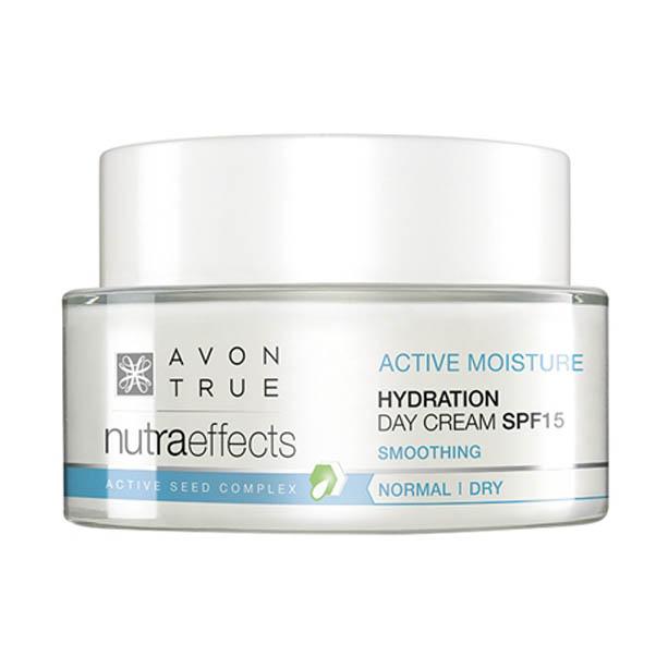 Crema de zi Avon True Nutra Effects Hydration SPF15 - Catalog Avon