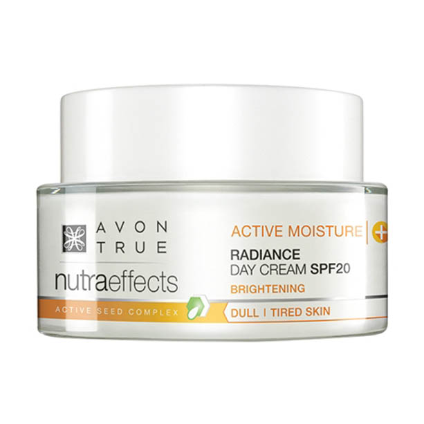 Crema de zi Avon True Nutra Effects Radiance SPF20 - Catalog Avon