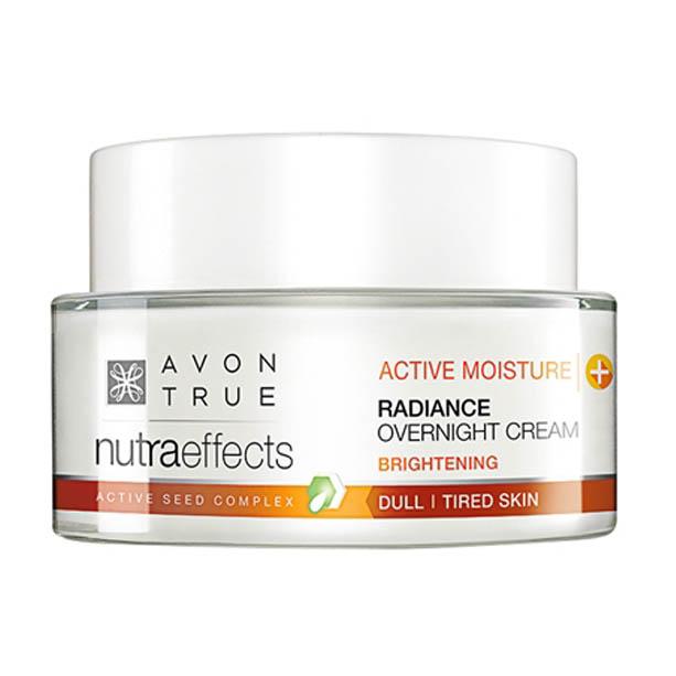 Gel-crema de noapte Avon True Nutra Effects Radiance - Catalog Avon