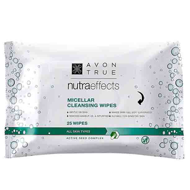 OS - Servetele micelare Avon True Nutra Effects - Catalog Avon