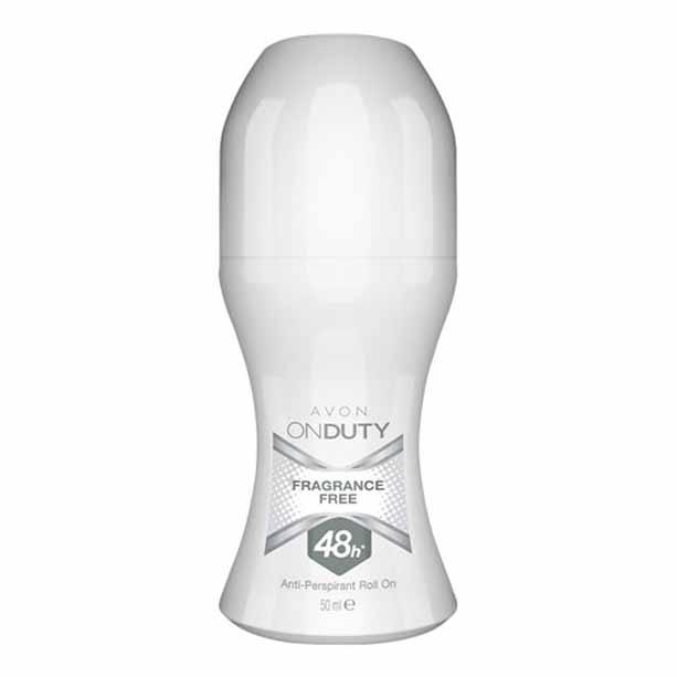 Deodorant cu bila On Duty 48 h Fragrance Free Unisex - Catalog Avon