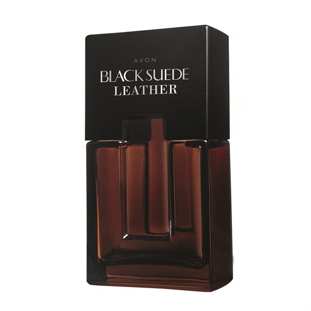 Apa de toaleta Black Suede Leather **** - Catalog Avon