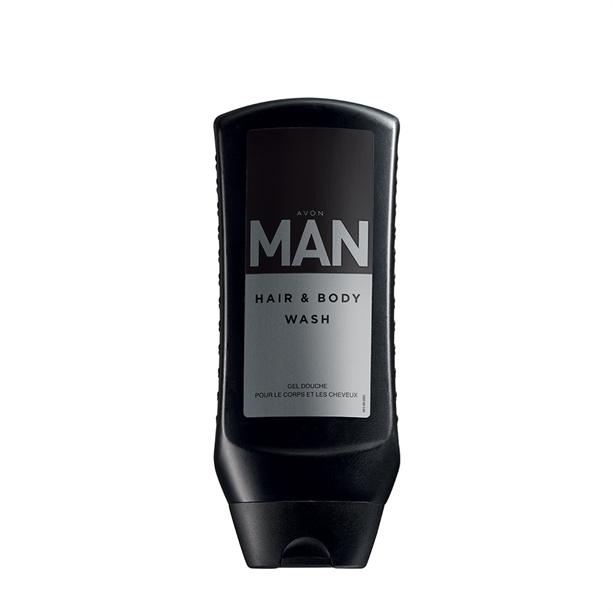 Gel de dus pentru par si corp Avon Man - Catalog Avon