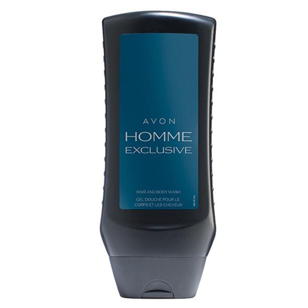 Gel de dus pentru par si corp Avon Homme Exclusive - Catalog Avon