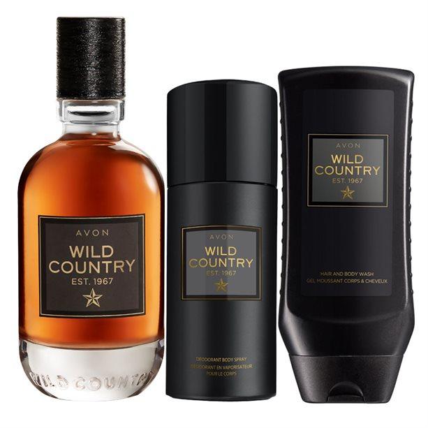 Set 3 produse Wild Country pentru El - Catalog Avon