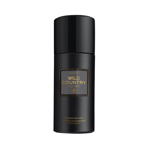 Spray deodorant Wild Country pentru El - Catalog Avon