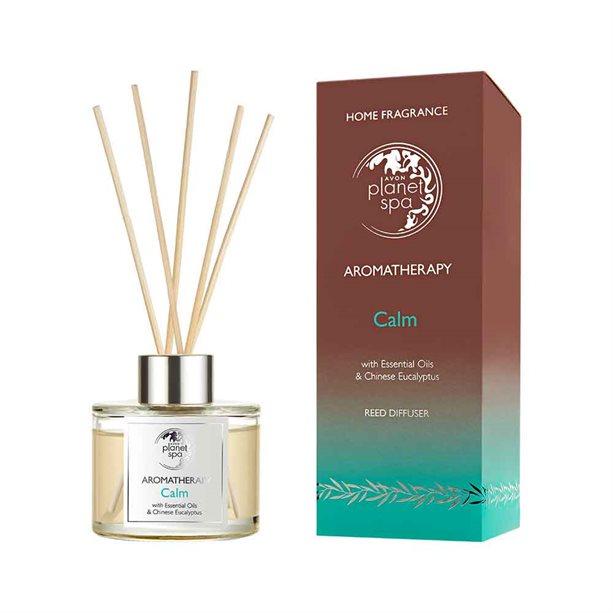 OS - Difuzor Planet Spa Aromatherapy Calm cu ulei de eucalipt si menta - Catalog Avon