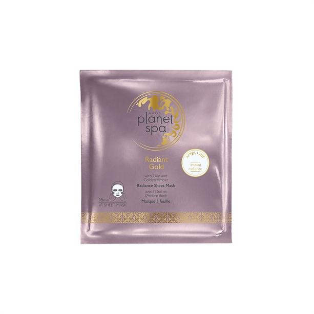 Masca individuala Radiant Gold - Catalog Avon