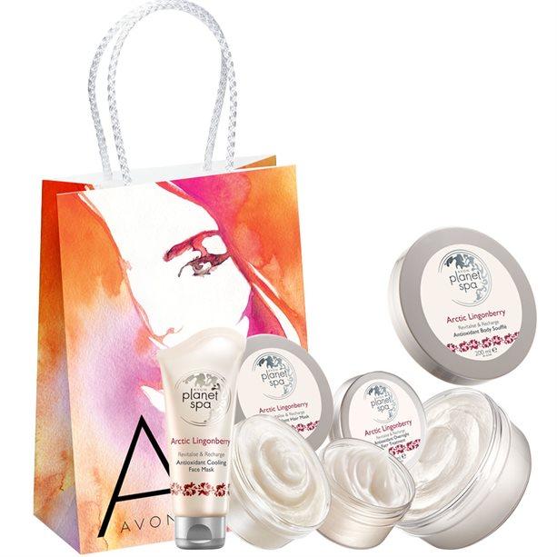 Set 4 produse Arctic Lingonbelly - Catalog Avon