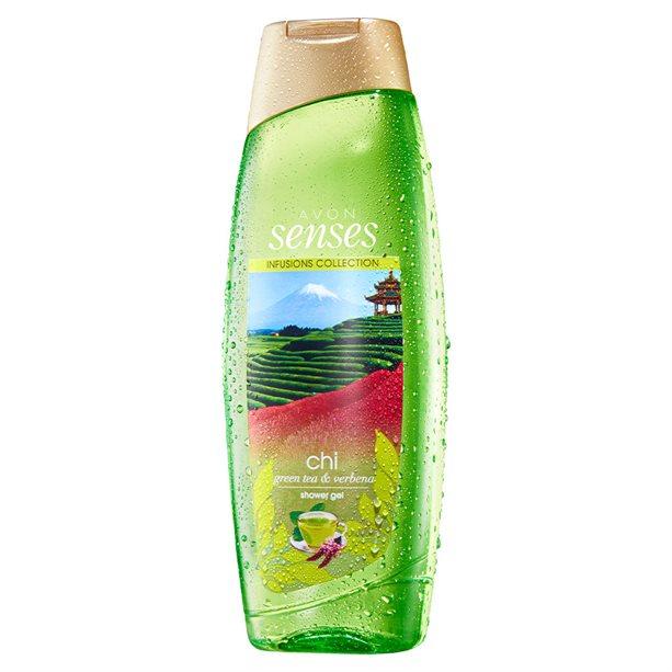 Gel de dus Senses Chi Green Tea si Verbena 500 ml ** - Catalog Avon