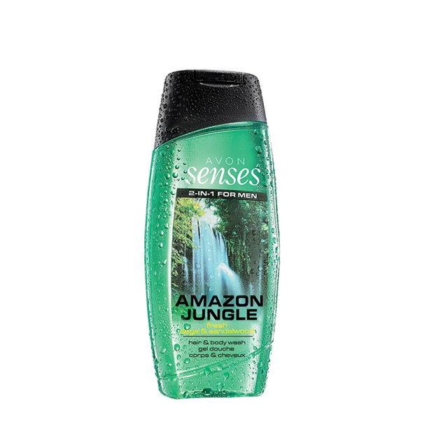 Gel de dus pentru par si corp Senses Amazon Jungle 250 ml ** - Catalog Avon