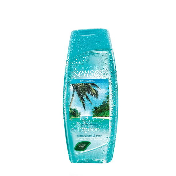 Gel de dus Senses Refreshing Lagoon 250 ml - Catalog Avon