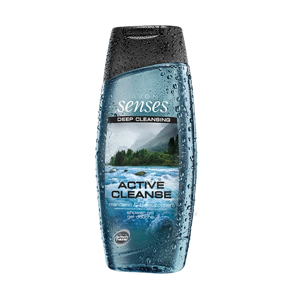 Gel de dus Senses Active Cleanse 500 ml - Catalog Avon