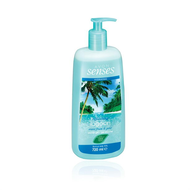 Gel de dus Senses Lagoon 720 ml ** - Catalog Avon
