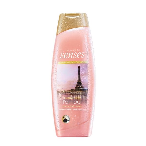 Gel de dus Senses Romantic L amour 500 ml - Catalog Avon