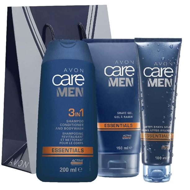 Set 3 produse Avon Care Men Essentials - Catalog Avon